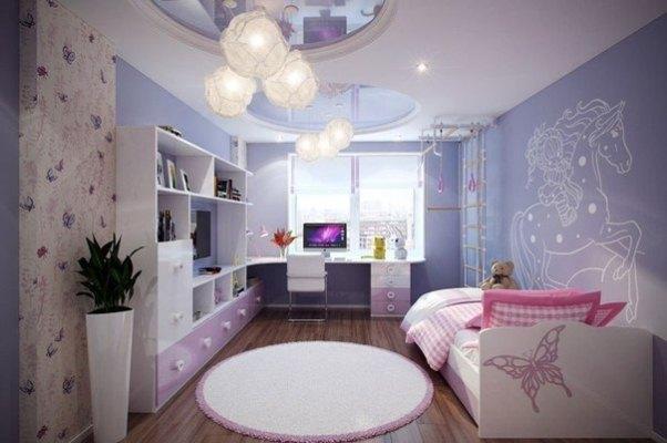 Натяжні стелі в дитячій кiмнатi 6
