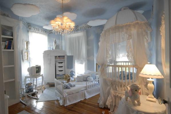 Натяжні стелі в дитячій кiмнатi 7
