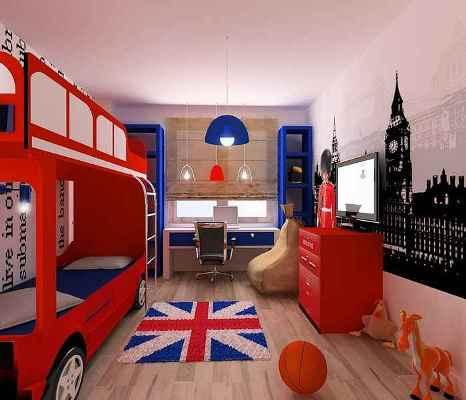 Натяжні стелі в дитячій кiмнатi 2