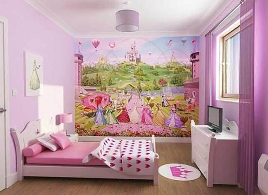 Натяжні стелі в дитячій кiмнатi 5