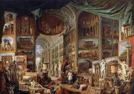 натяжные потолки античность