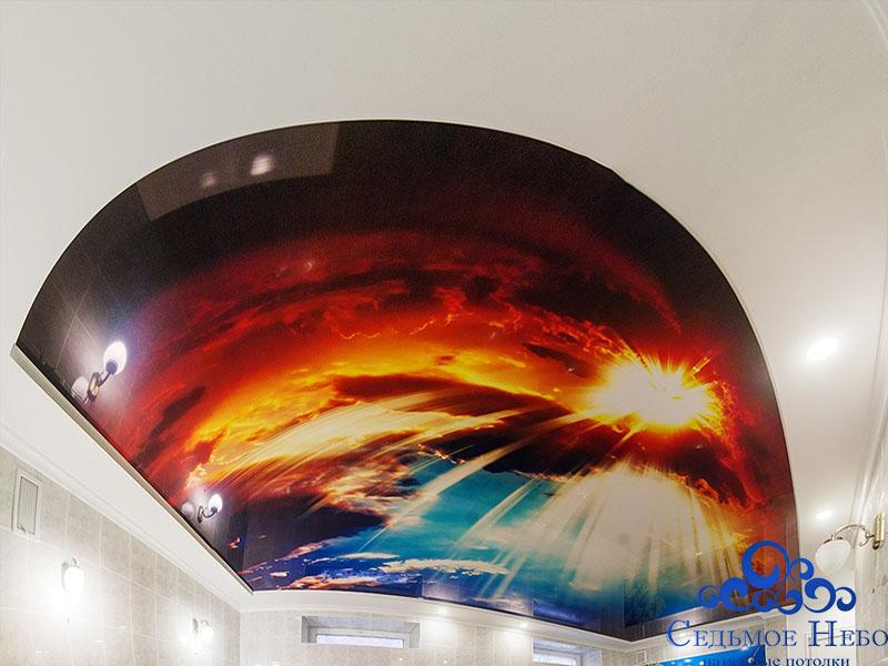 потолки с фотопринтом