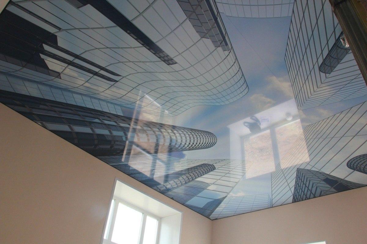 Натяжные потолки с фотопечатью в Киеве